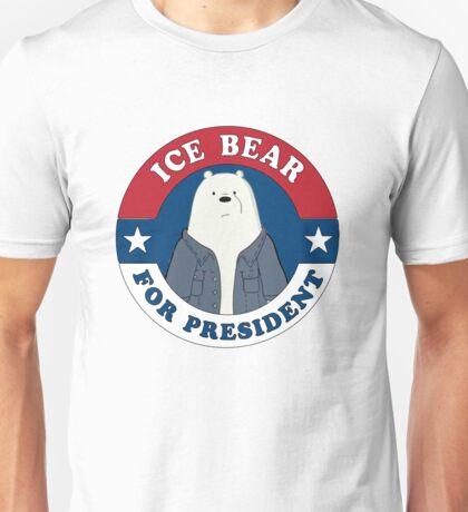 ICE BEAR FOR PRESIDENT Unisex T-Shirt