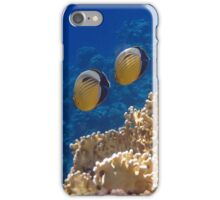 Red Sea Exquisite Butterflyfish 2 iPhone Case/Skin