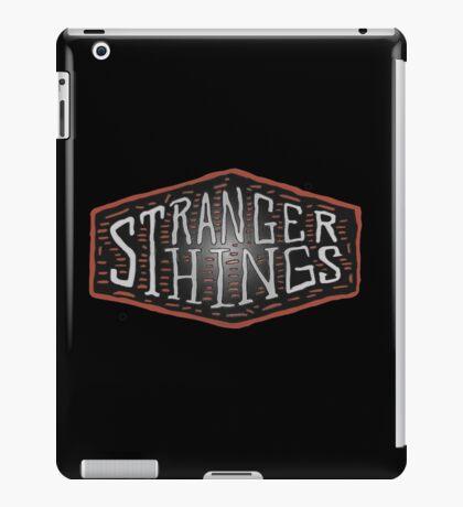 stranger things - tv series iPad Case/Skin