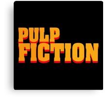 Pulp Fiction Canvas Print