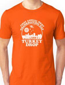 First Annual WKRP Thanksgiving Day - Turkey Drop  Unisex T-Shirt