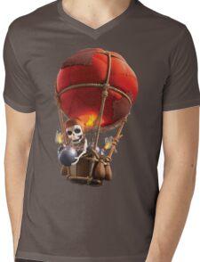 Clash of Clans Balloon Mens V-Neck T-Shirt