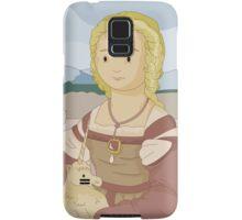 Lady with unicorn by Raphael Samsung Galaxy Case/Skin