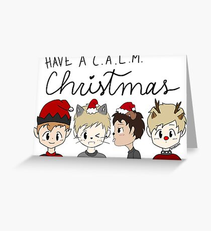 Christmas Boys Greeting Card
