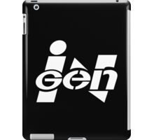 Ingen Logo (White) iPad Case/Skin