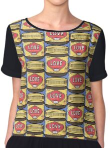 A Jar of Love Chiffon Top