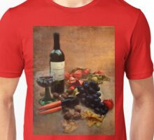 Wine and grapes Unisex T-Shirt