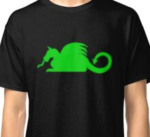 Green Dragon Silhouette  Classic T-Shirt