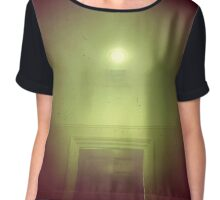 Perfectly Lit Dream Room  Chiffon Top