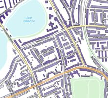 Multiple Deprivation Stamford Hill West ward, Hackney Sticker