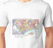 Multiple Deprivation Stanley ward, Kensington & Chelsea Unisex T-Shirt