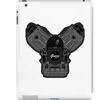 Moto Guzzi Motor on white iPad Case/Skin