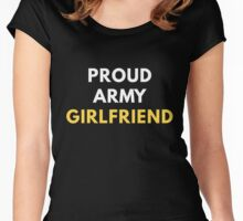 Proud Army Girlfriend Women's Fitted Scoop T-Shirt
