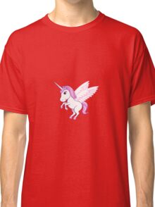 Fluffy unicorn Classic T-Shirt