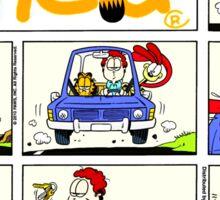 GARFIELD 8 Sticker