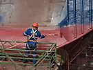 Painter in the dry-dock by awefaul