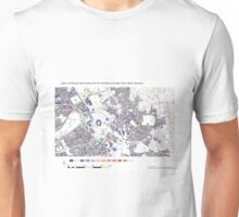 Multiple Deprivation Stratford & New Town ward, Newham Unisex T-Shirt