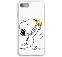 Snoopy y su amigo iPhone Case/Skin