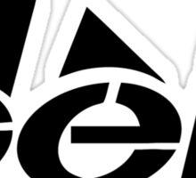 Ingen Logo (Black) Sticker