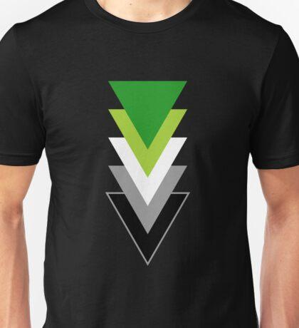 Aromanticism in Shapes Unisex T-Shirt