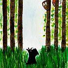Scottie Dog 'Woodland Friends' by archyscottie