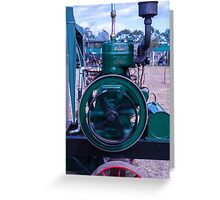 Lister Stationary Engine Greeting Card