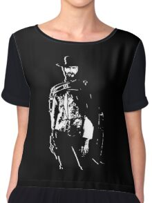 CLINT EASTWOOD Chiffon Top