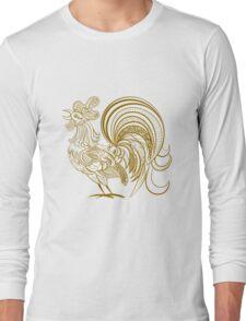 Golden Rooster Long Sleeve T-Shirt