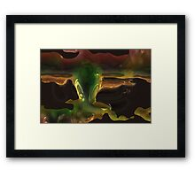 Donuts Abstract 25 Framed Print