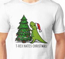 T-Rex Hates Christmas Unisex T-Shirt