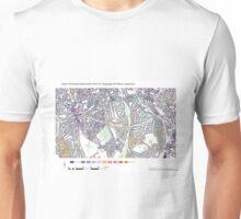 Multiple Deprivation Telegraph Hill ward, Lewisham Unisex T-Shirt