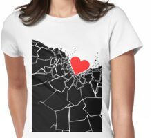 Heartbreaker II Womens Fitted T-Shirt