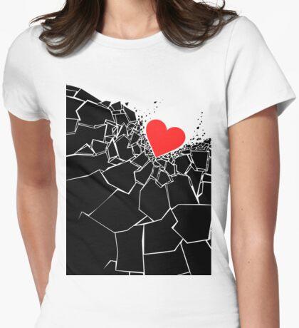 Heartbreaker II Womens Fitted T-Shirt
