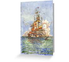 La Citta' Galleggiante Greeting Card