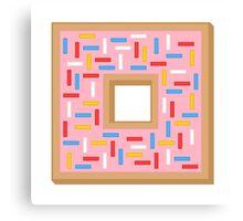 Box Donut Canvas Print