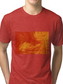 The lingering twilight, 120-80cm, 2016, oil on canvas Tri-blend T-Shirt