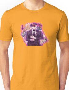 jumin+quote+flower crown blusing Unisex T-Shirt