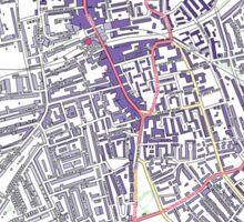 Multiple Deprivation The Lane ward, Southwark Sticker