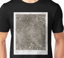 USGS TOPO Map California CA Whittier 301365 1974 24000 geo Unisex T-Shirt