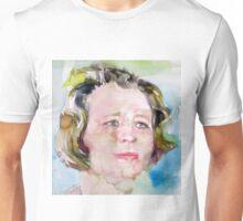 EDNA ST. VINCENT MILLAY - watercolor portrait Unisex T-Shirt