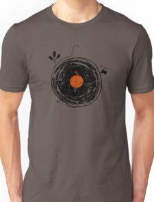 Enchanting Vinyl Records Vintage Unisex T-Shirt