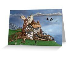 Fantasy Tree House Greeting Card