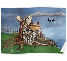 Fantasy Tree House Poster