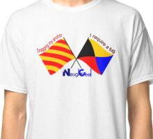 NaughtiCool Signal Flag - Dragging anchor, require assistance Classic T-Shirt