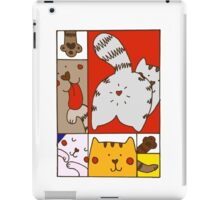 Mondrian's cat iPad Case/Skin