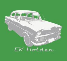 EK/FB Holden (Grey) Kids Clothes