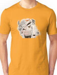 Zen flower crown +quote blush face Unisex T-Shirt