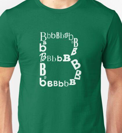 Found Letters - B Unisex T-Shirt