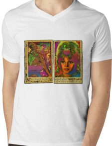 Brigitte Bardot Mens V-Neck T-Shirt