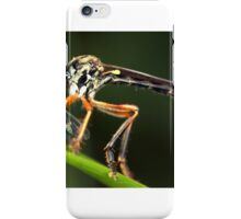 robber fly iPhone Case/Skin